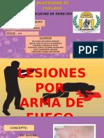 Diapositivas Lesiones Por Armas de Fuego (2)