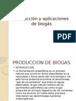 Produccion y aplicaciones del biogás