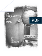 26 Narratives of Mine