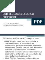 El Currículum Funcional