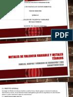 METALES TERREOS