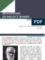 Pavlov e Skinner