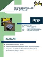 Aplikasi Micro Controller Dalam Dunia Otomasi (B. Arifianto