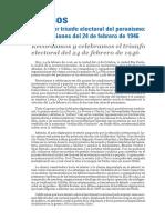A 70 años del primer triunfo electoral del peronismo - Declaración La Plata