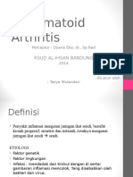 Rheumatoid Arthritis - Radiologi