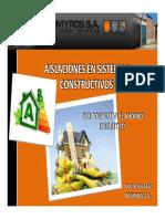 Aislaciones en Sistemas Constructivos AIQU_BROMYROS