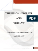 The Kenyan Worker and the Law