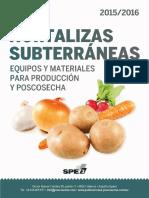 Equipos y materiales para producción y poscosecha de papa en España