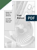Manual Variador Allen Bradley 161