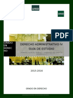Derecho Administrativo IV - Guía
