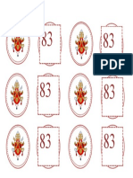 April 16 - Cupcake Toppers for Pope Benedict