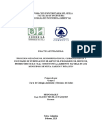 Proyecto Salida de Campo Geologia Terminao