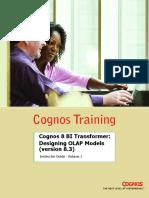 Cognos 8 BI Transformer Designing OLAP Models
