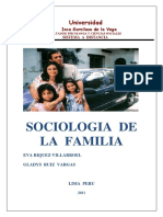 Sociologia de La Familia Unidad