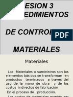 Costos - Quinta Parte Control de Materiales Para Nelida