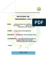 Informe de Estructuras de Control Imprimir