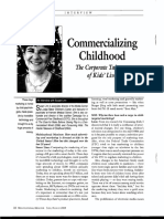 Commercializing Childhood