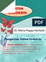 Sistem Endokrin - Dr. Maria Poppy Herlianti, B.Sc, M.Epid