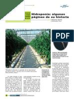 Historia Detallada de La Hidroponia