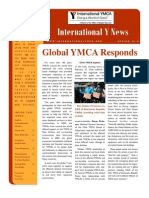 International YMCA Newsletter Spring 2010