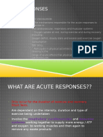 acute responses presentation