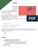 Progresión Geométrica - Wikipedia, La Enciclopedia Libre