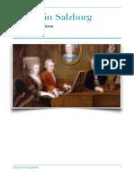 Mozart's Salzburg Years