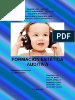 Formación estética auditiva