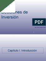 Capítulo N° 1 Introducción a la ingeniería económica