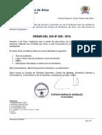 ORD-DIA 28-2016 OFICIO ACADEMIAS PRACTICAS