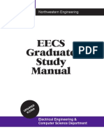 Graduate Study Manual -- EECS at NU
