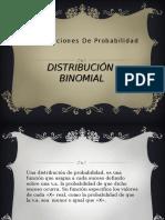 Distribución de Bernoulli - Binomial