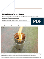 Construct an Upcycled Wood Gas Camp Stove _ Make