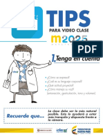 Tips Video Clase