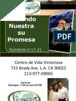 Haciendo Nuestra Su Palabra Profetica 2-21-16
