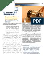 La Conducta Prohibida Concusion