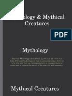 mythology   mythical creatures