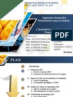L_évaluation Lors D_une Cession Financiére LBO