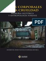Textos Corporales de La Crueldad