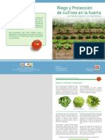 Riego y Protección de Cultivos de Huerta