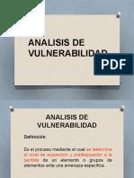 Diapositicalidadvas de Analisis de Vulnerabilidad 1