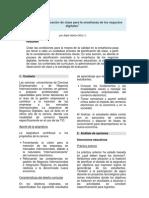 Didáctica y Planificación de clase para la enseñanza de los negocios digitales