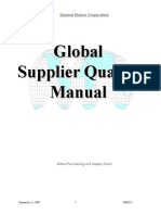 GM 1927 Supplier Quality Manual_Sept2009