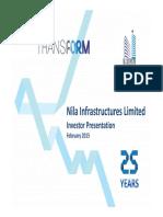 Investor Presentation - February 2015 [Company Update]