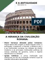 Roma e a Antiguidade Tardia