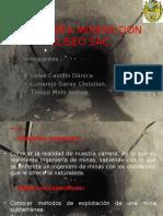 Diapositiva de La Compañía Minera Don Eliseo Sac