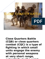 CLOSE QUARTER BATTLE PRESENTATION.ppt