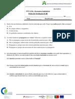 Ficha de Avaliação UFCD 6706 – Movimentos Ondulatórios [v.B]