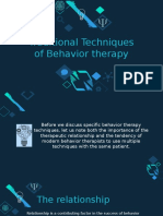 Behavior Therapy Powerpoint