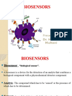 Biosensors Dr. Harman